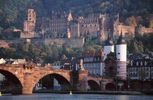 Heidelberg Old City.